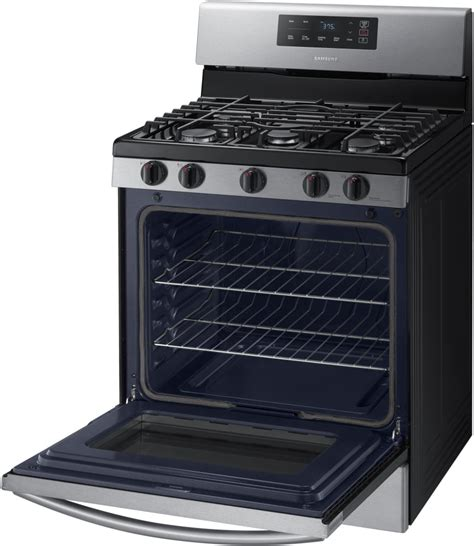samsung oven racks samsung nx58k3310ss 30 inch gas range with 5 sealed