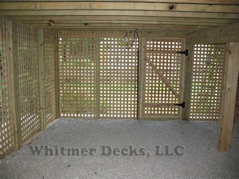 lattice door  deck google search house ideas