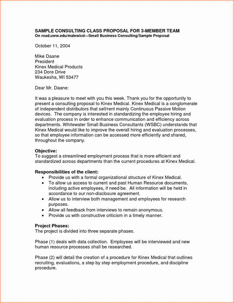 small business proposal letter project proposal