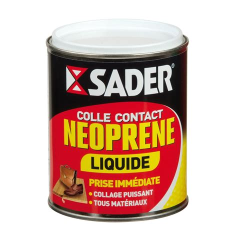 pot rangement cuisine colle néoprène liquide multi usages sader 750ml leroy