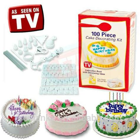 Cake Decorating Shows On Tv - as seen on tv 100pcs cake decorating kit cake tools cake