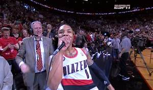 Video: Incredible Courtside View Of Damian Lillard's ...