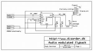 Lysandrou U0026 39 S Laboratory  Simple Plasma Speaker  Ne555