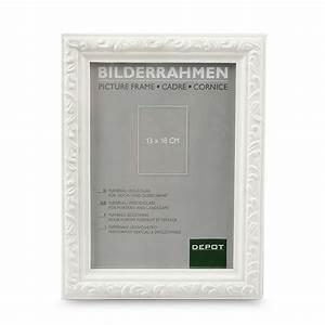 Bilderrahmen Holz Weiß : bilderrahmen 13x18cm wei depot de ~ Frokenaadalensverden.com Haus und Dekorationen