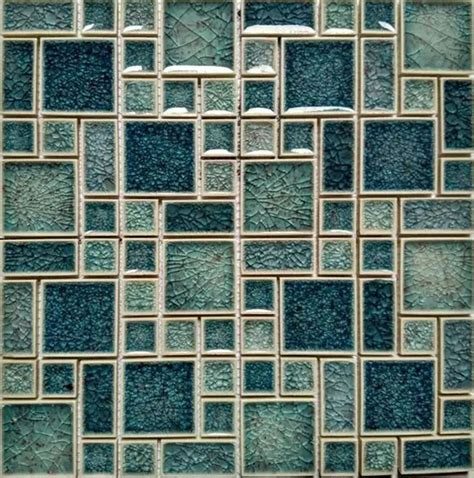 crackle glass tile crackle glass mosaic wall tile