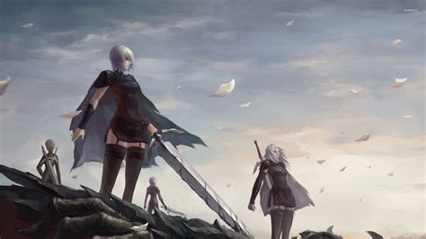 Claymore Anime Wallpaper - helen with a sword in claymore wallpaper anime