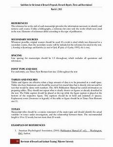 Apa Proposal Example 7 Paragraph Essay Outline Apa Proposal Example