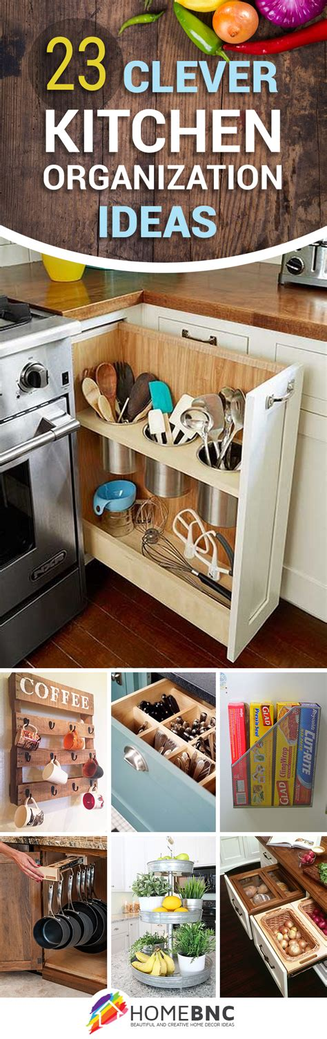 23 best kitchen organization ideas and tips for 2017