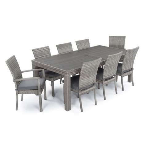 rst brands cannes 9 patio dining set patio dining