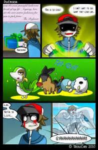 pokemon black white fanart