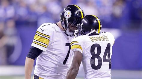 steelers  colts  final score antonio browns