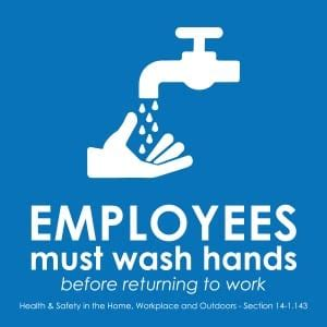 handwashing sign laws    states signscom blog