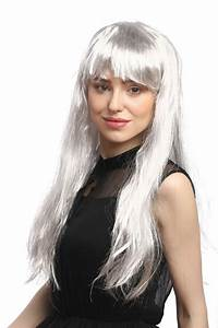Grau Silber Haare : per cke grau silber pony glatt lang 31757 p309 silver ~ Frokenaadalensverden.com Haus und Dekorationen