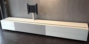Meuble Tv Banc : spectral cocoon 1001 blanc meubles tv spectral sur easylounge ~ Teatrodelosmanantiales.com Idées de Décoration