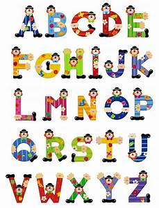 sevi clown letters clown letters wooden clown letters With childrens wall letters