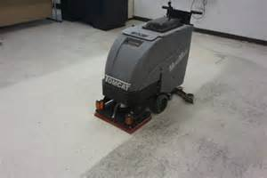 Tennant Floor Stripping Machine by Orbital Scrubber Minimag Walk Behind Floor Scrubber