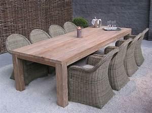 Table En Teck Jardin : d couvrez les atouts des meubles de jardin en teck emob ~ Dailycaller-alerts.com Idées de Décoration