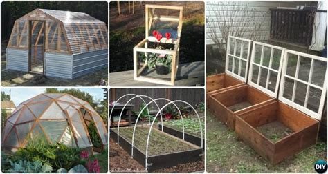 diy green house projects picture instructions