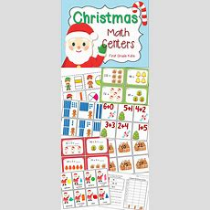 Christmas Math Centers For First Grade  See More Best Ideas About Math, Math Activities And