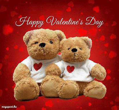 Valentine Happy Animated Bears Ecard Valentines Megaport