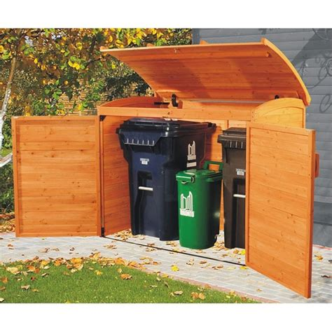 outdoor garbage storage 12 best images about garbage can storage shed on 1292