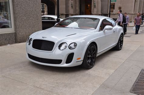 2018 Bentley White Continental Supersports Coupe Uk