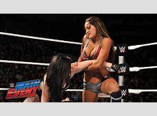 Paige vs Nikki Bella WWE Main Event, January 6, 2015