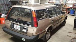 Very Rear Clean Title 1989 Toyota Corolla All Trac 1 6l