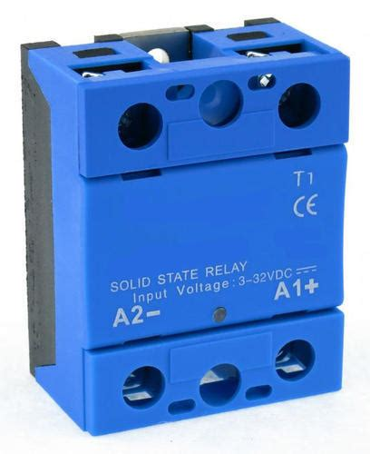 Solid State Relay Blue Body Electrical Piece