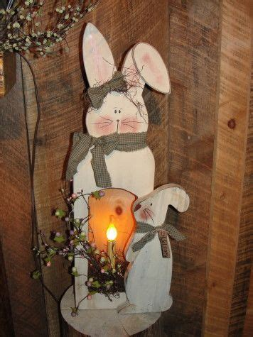 bunny box  standing bunny easter crafts spring