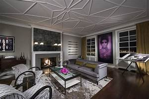 a modern home with a classic twist in chicago room decor With interior decorators in chicago