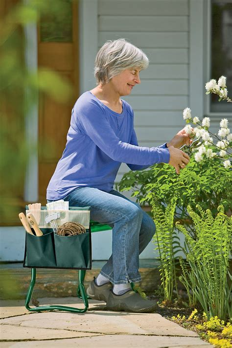 Kneeler & Seat for Gardening   $75  Orders Ship Free