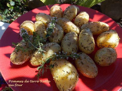 cuisiner des pommes de terre ratte pommes de terre ratte au four croquant fondant gourmand