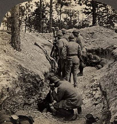 Artillery Animated French Wwi Position Observation