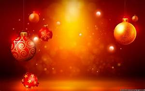Christmas Ornaments Lights Balls Red Christmas Ornaments Set Wallpaper