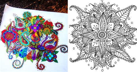 create coloring mandalas  give