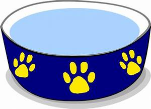Dog Water Bowl Clip Art at Clker.com - vector clip art ...