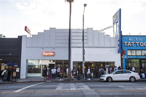 l stores los angeles supreme shopping in fairfax district los angeles