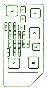 1995 Toyota Camry Fuse Box Diagram  U2013 Circuit Wiring Diagrams