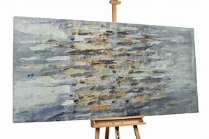 Douglasie öl Grau : l gem lde xxl abstrakt grau braun kaufen kunstloft ~ Lizthompson.info Haus und Dekorationen