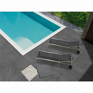 carrelage terrasse visio gris 15x15cm carrelages parquetsfr With photo terrasse carrelage gris
