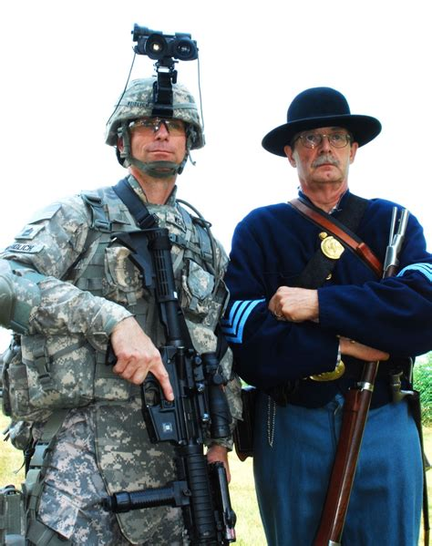 dvids news new york national guard compares contrasts modern and civil war soldiers to