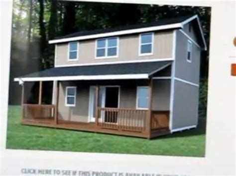 two story shed lowes 2 story mortgage free tiny house part 2 more info