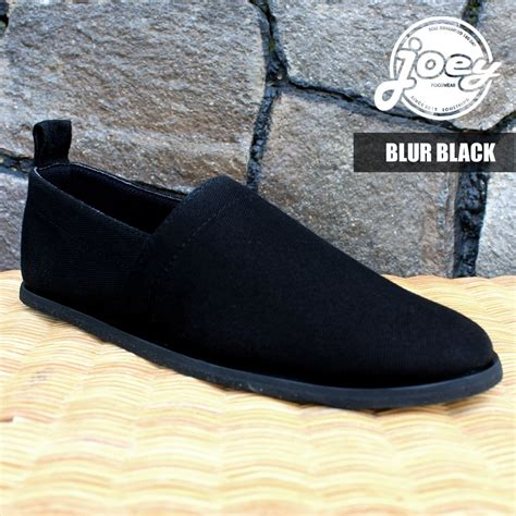 jual blur black joey shoes sepatu keren pria bagus murah keren di lapak corner