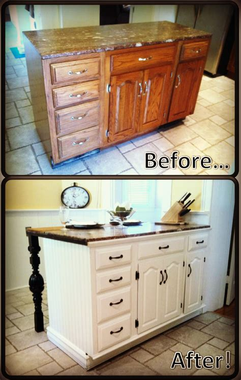 diy cuisine diy kitchen island renovation pieces of me