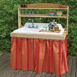 outdoor kitchen sinks ideas turn a salvaged sink into an outdoor bar 10 smart ideas for outdoor kitchens and dining this
