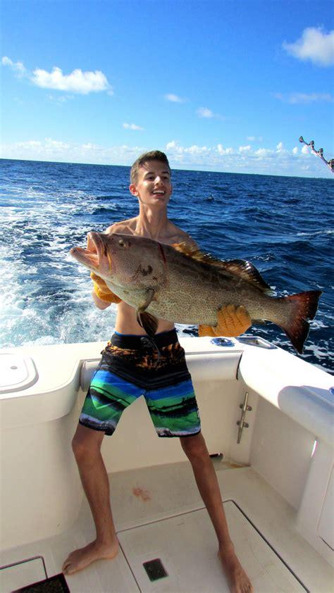 grouper fishing charter fish stuart fl reel kyle