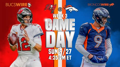 denver broncos  tampa bay buccaneers  game updates