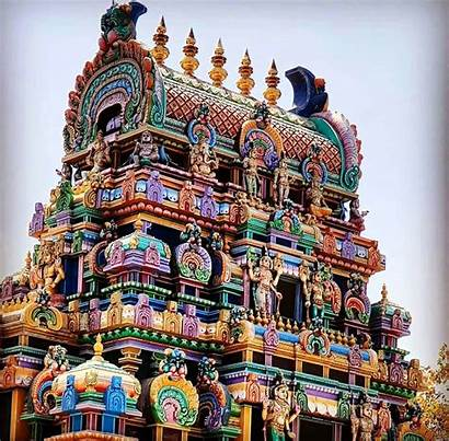 Temple South Architecture India Indian Glory Hindu