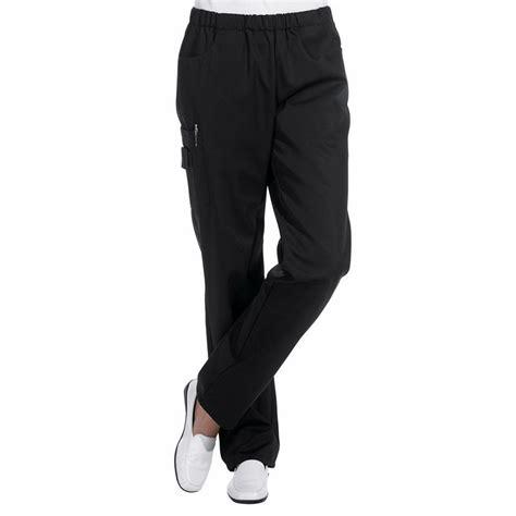 pantalon unisexe taille élastiquée poches latérales
